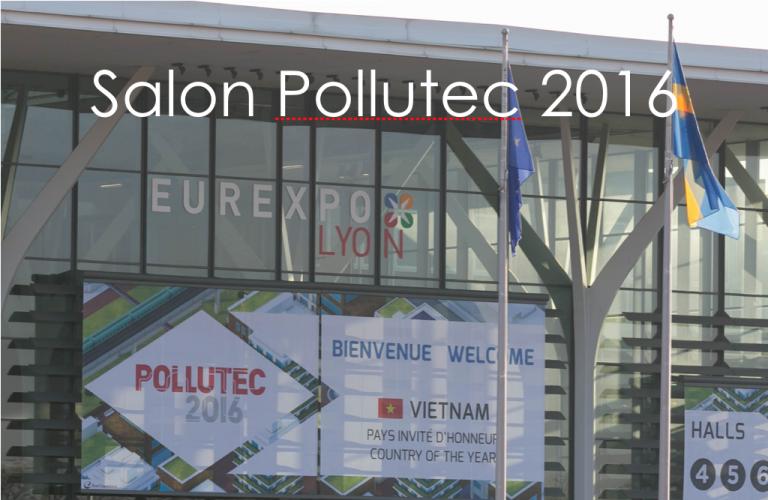 Kipopluie au salon POLLUTEC à Lyon